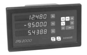 Newall DPG2000 DRO (digital readout) system repairs