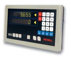Newall B60 DRO (digital readout) repairs