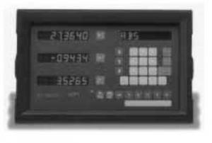 Newall DP7 DRO (digital readout) system repairs
