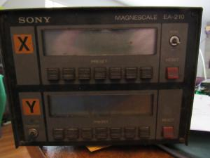 Sony Magnescale EA210 DRO repairs