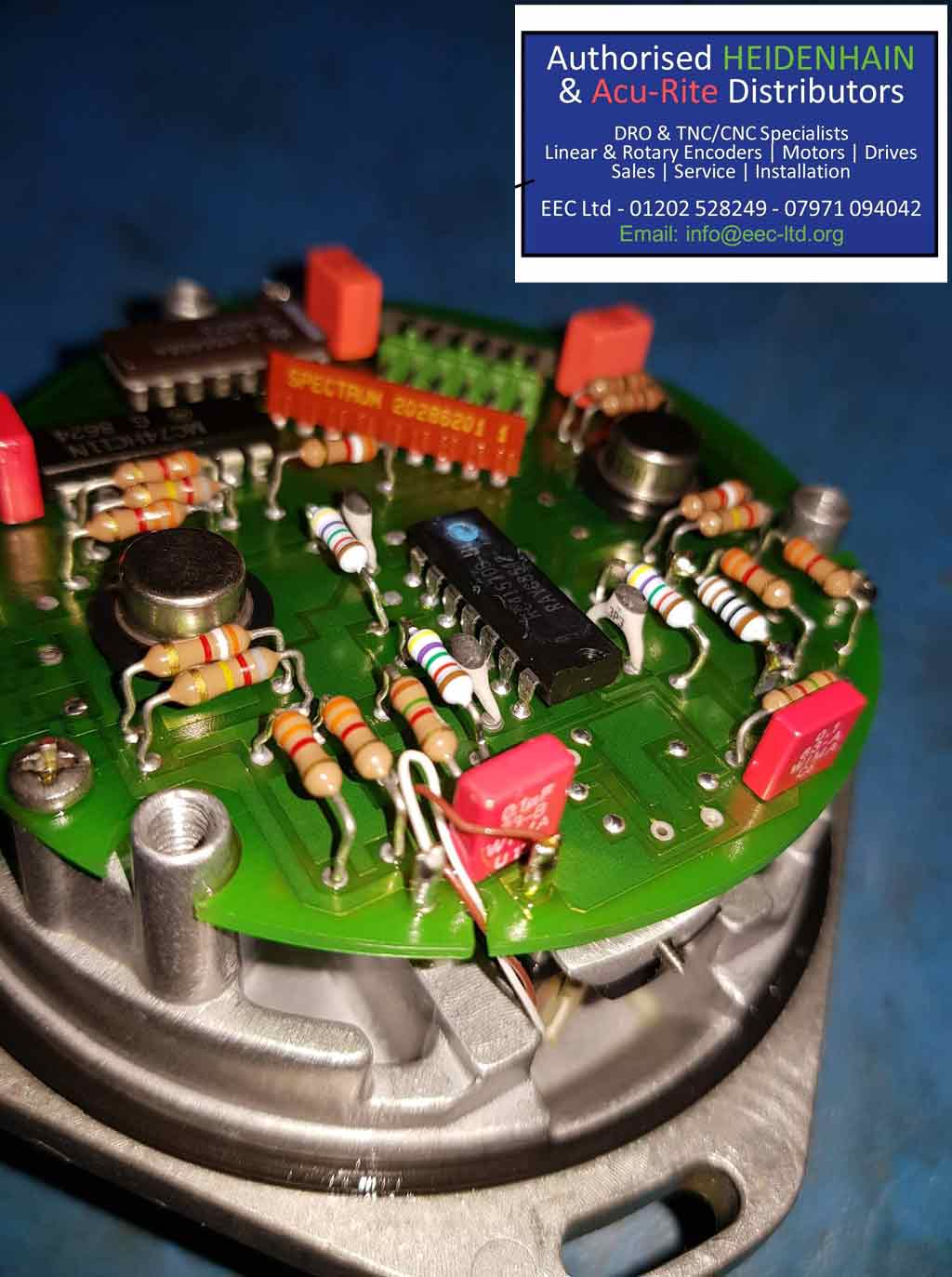 rotary encoder re calibrate