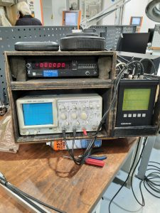 Onsite test equipment for fault finding