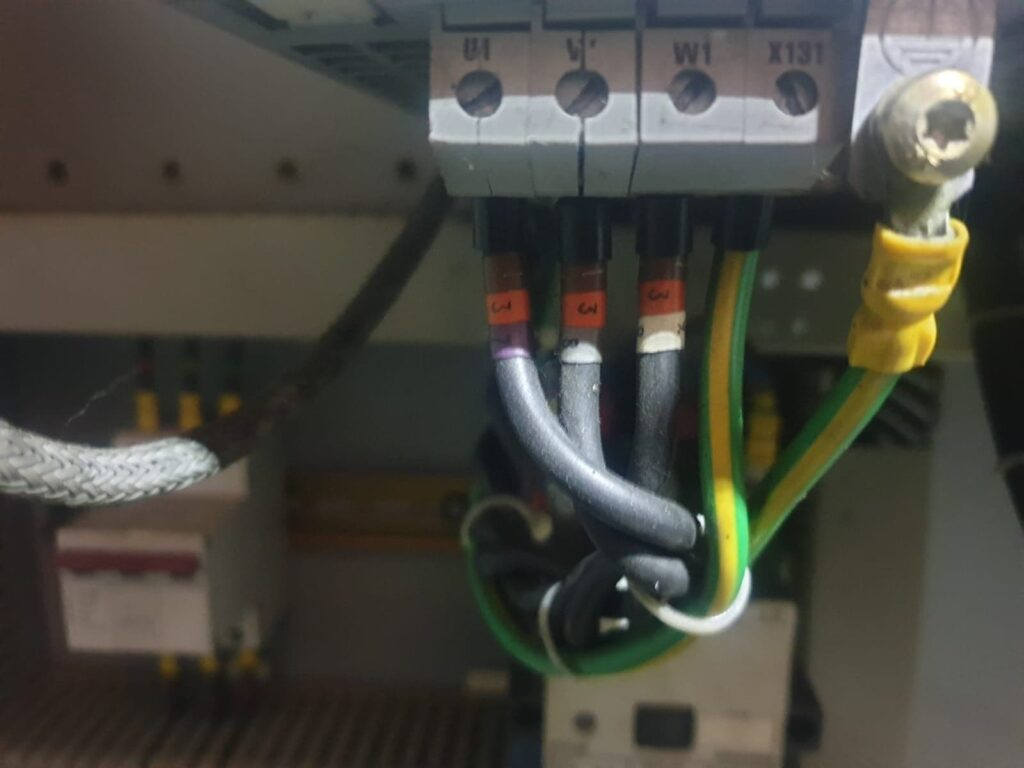 3 phase input - Input 3 phase to Siemens ER module