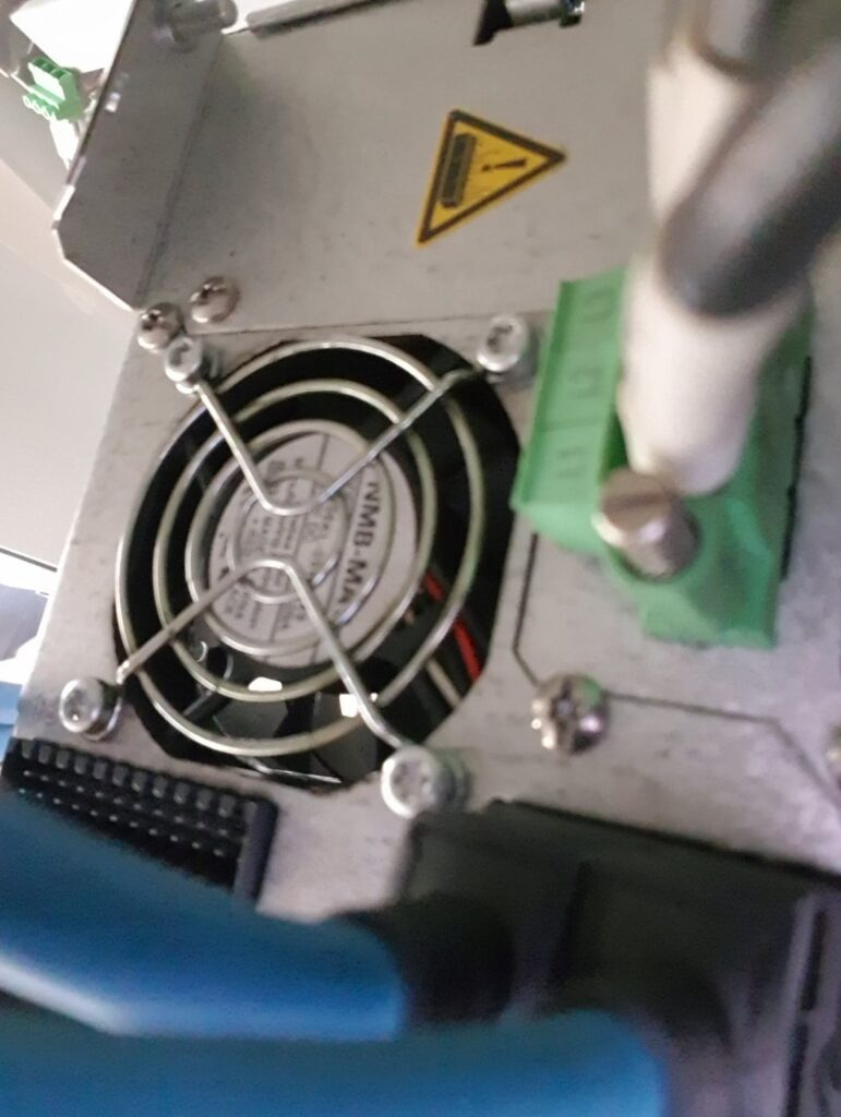 cooling fan check